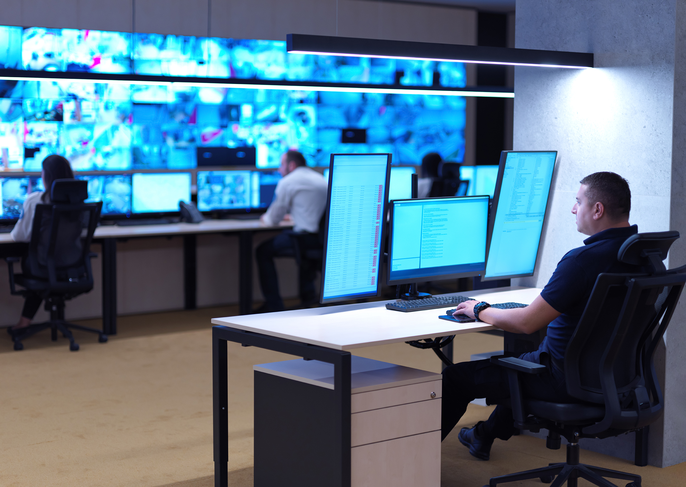 Control Room Design and Installation - Ajar Technology